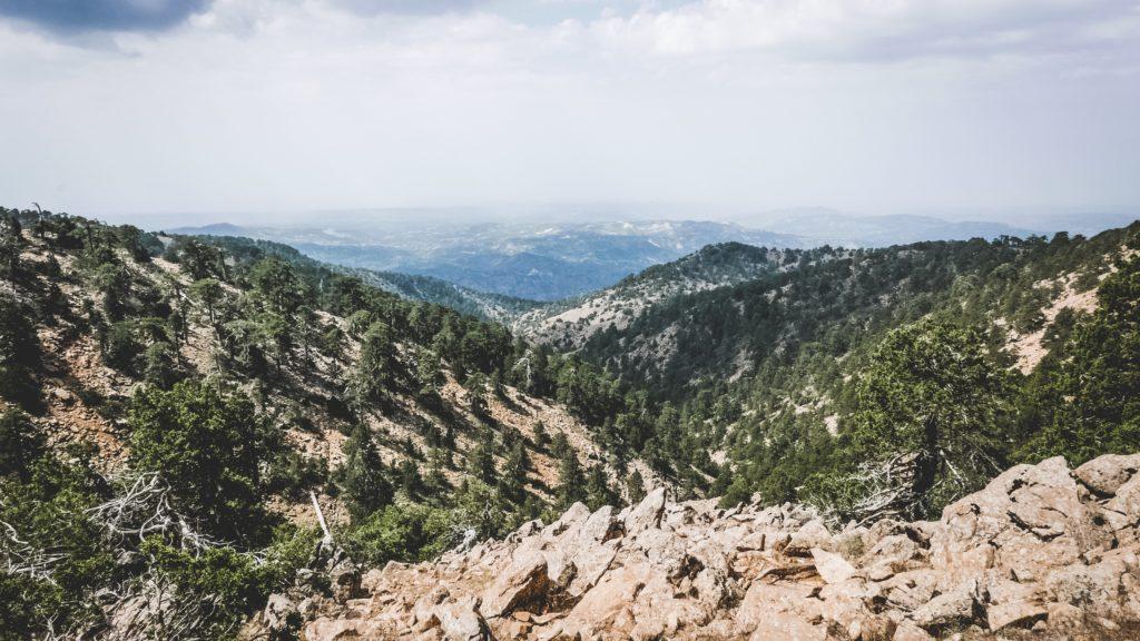 Горы на Кипре Тродос